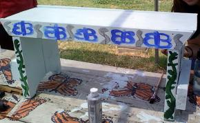Butterfly Bench, Summer '11