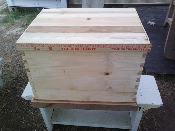 wood storage chest plans