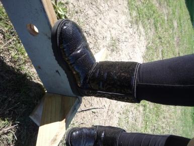 Boot on Bar
