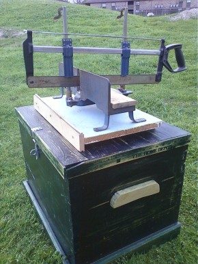 Miter Box Mounted