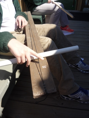 Diddley Bow from Elastic Cord
