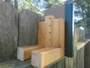 Bookend Salvaged Pine