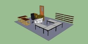 A mix of lecture/workspaces