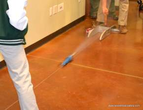 Co2 Rocket Cars in Action
