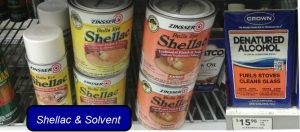 Shellac & Solvent