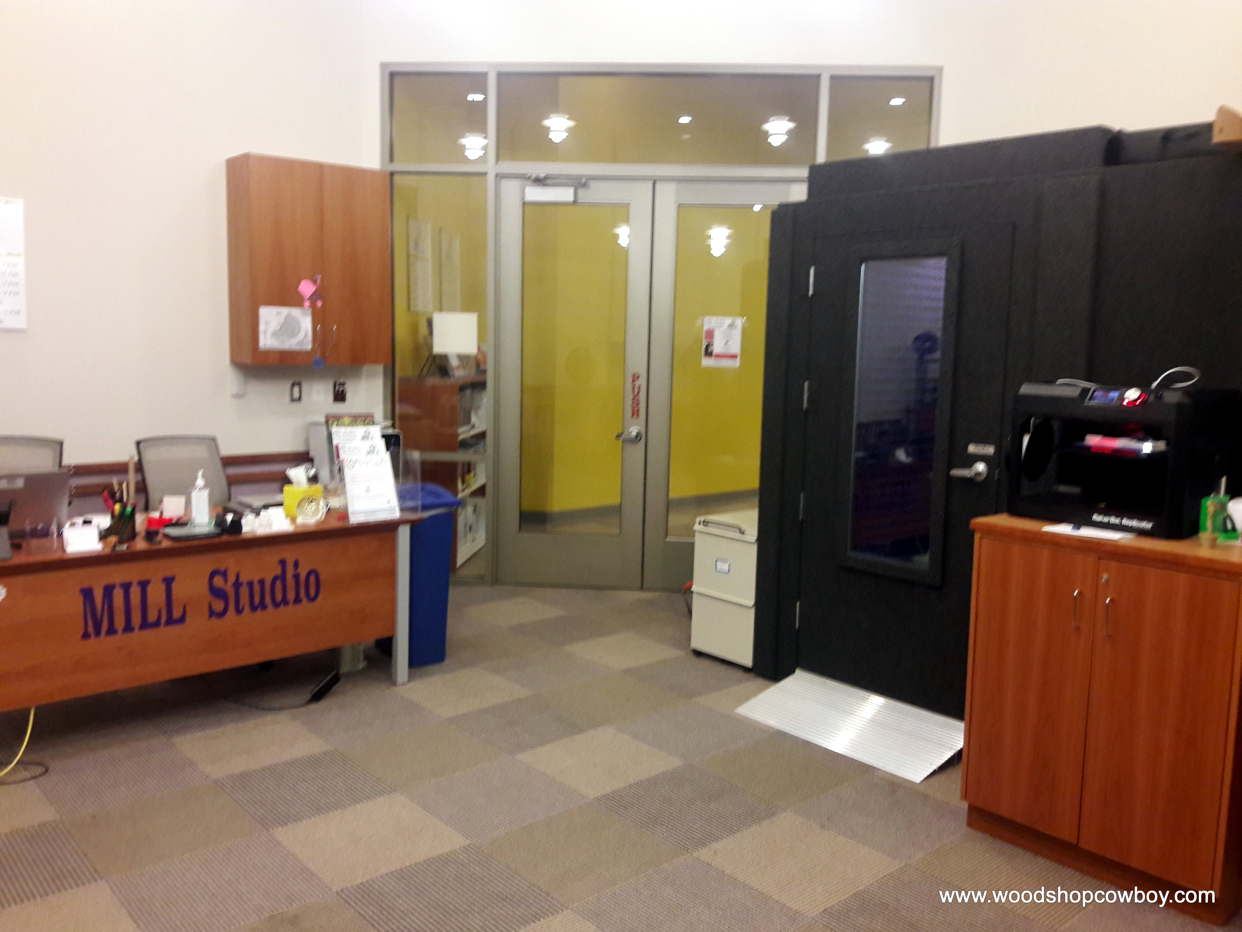 Gum Spring Library >> Makerspace Tour Mill Studio At Gum Springs Library Woodshopcowboy